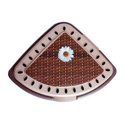 Πλαστικό τριγωνικό δοχείο απλύτων Ψάθα 43lt