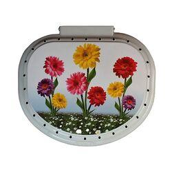 Καλάθι Απλύτων 40lt 41x38x49cm Decor Λουλούδια