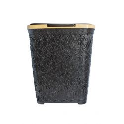 Δοχείο Απλύτων 40lt Καφέ Δαντέλα
