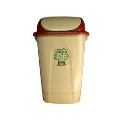 Κάδος Απορριμάτων 60lt 47x38x75cm Πλαστικός Παλλόμενος 2.3kg Κουζίνας-Επαγγελματικός Μπεζ