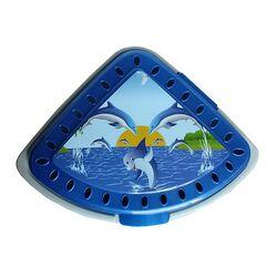 Πλαστικό τριγωνικό δοχείο απλύτων 43lt