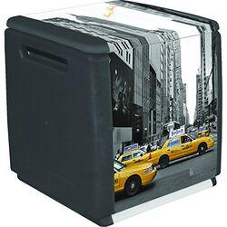 Μπαούλο 54x53x57 120lt Αποθήκευσης Πλαστικό MASSIF 7kg Decor ΝΕΑ ΥΟΡΚΗ ARTPLAST
