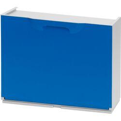 Παπουτσοθήκη Πλαστική Συναρμολογούμενη 51x17.3x41cm για 3 Ζευγάρια 2.5kg UNIKA Μπλε Ιταλίας