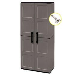 Πλαστική Ντουλάπα 16kg 68x37x163 MASSIF 4 Χώρων 2φυλλη ARTPLAST FREELINE