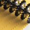 Marcato Εξάρτημα Κοπής Ζύμης DESIGN με 9 Αφαιρούμενες Ροδέλες 14.5x4x16cm Μπλε PASTABIKE Ιταλίας