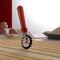 Marcato Εξάρτημα Κοπής Ζύμης Design με 3 Ροδέλες για Επιλογή Κοπής Κόκκινο PASTAWHEEL Ιταλίας