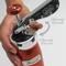 Marcato Μπισκοτομηχανή Design 2 Επιπέδων 5.5x5.5x21cm με 20 Κεφαλές για Μπισκότα Ανοδιωμένο Αλουμίνιο Ασημί Ιταλίας