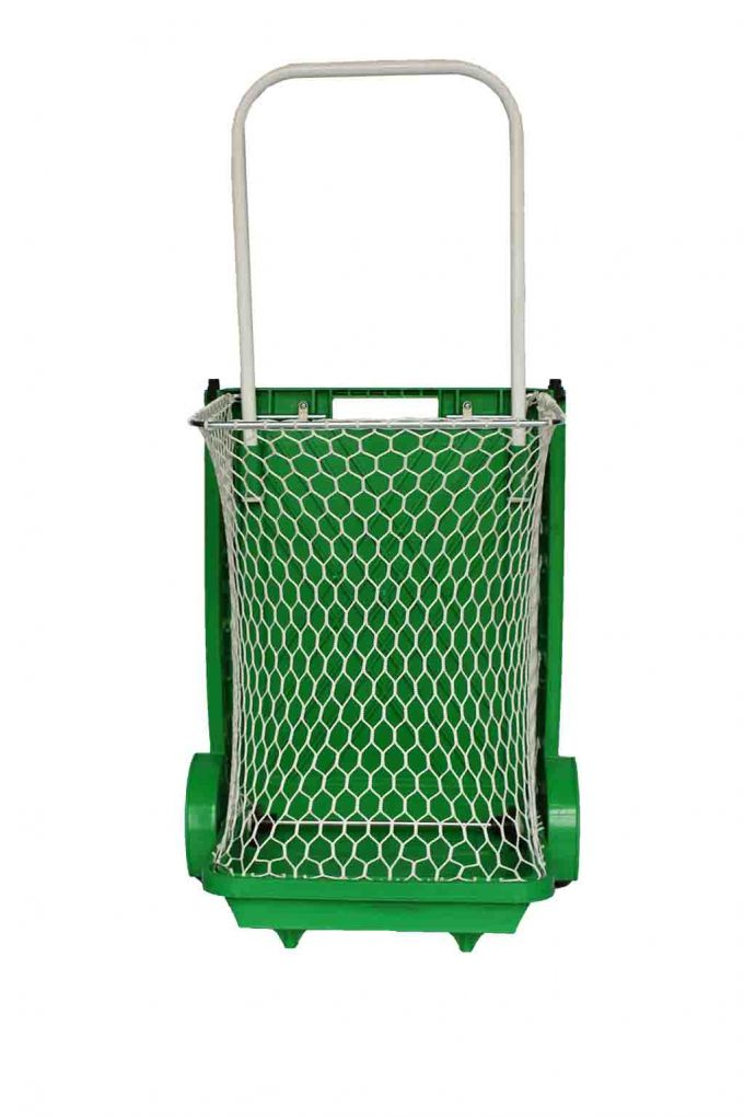 Καρότσι Λαϊκής Πτυσσόμενο με Δίχτυ Πράσινο