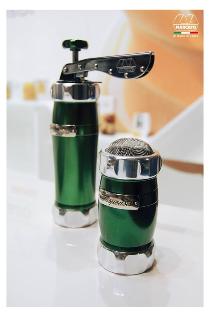 Marcato Αχνορίχτης Design 5.5x12.5cm  από Ανοδιωμένο Αλουμίνιο Πράσινο Ιταλίας