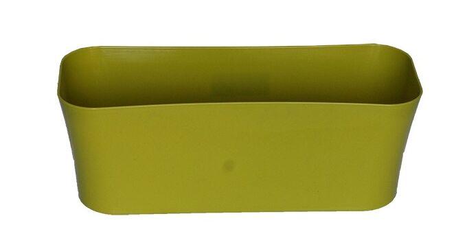 Ζαρντινιέρα 2,5lt 30x12x11cm Γυαλιστερό Πράσινο GLOSS Ελλάδας