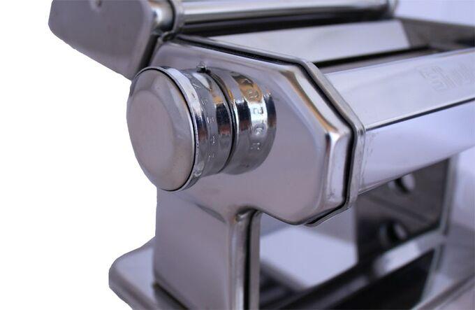 Μηχανή Φύλλου και Ζυμαρικών INOX 21x20x15cm Διαιρούμενη Max Πλάτος Ζύμης 14.5cm Βάρος 2.8kg SHULE
