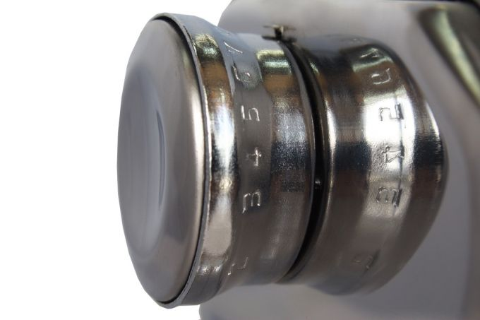 Μηχανή Φύλλου INOX 21x12.5x13cm Max Πλάτος Ζύμης 14.5cm Βάρος 1.58kg SHULE