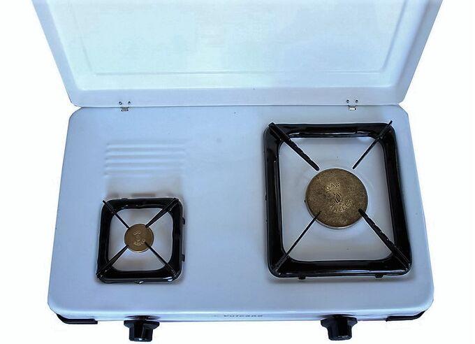 Εστία Υγραερίου (Πετρογκάζ) με 1.5 Εστία Επιτραπέζια