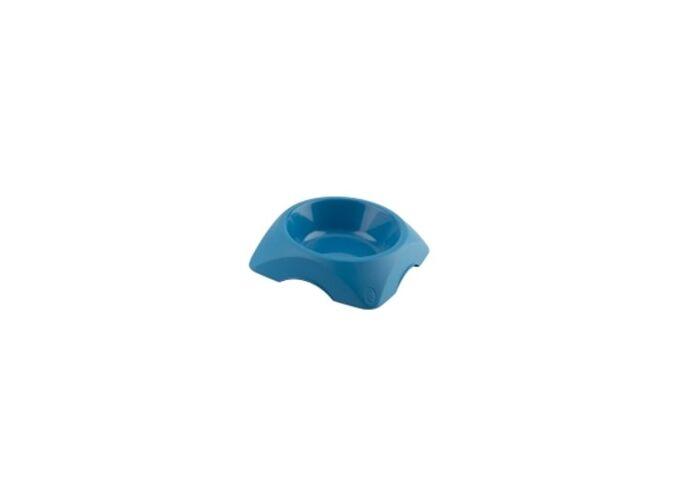 Ταΐστρα Σκύλου-Γάτας 22x22x5.3cm Μπλε 0.8lt BAMA GROUP Ιταλίας