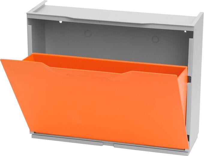 Παπουτσοθήκη Συναρμολογούμενη 3σε1 Σύνθεση 51x17.3x123cm UNIKA Πορτοκαλί ARTPLAST Ιταλίας