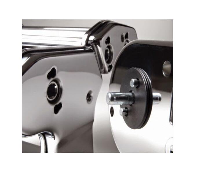 Marcato AMPIAMOTOR Μηχανή Φύλλου και Ζυμαρικών με Μοτέρ Ηλεκτρικό 220V 32x20x13cm Επιχρωμιωμένο Ατσάλι MAX Πλάτος Ζύμης 15cm Βάρος 4.2kg Ιταλίας