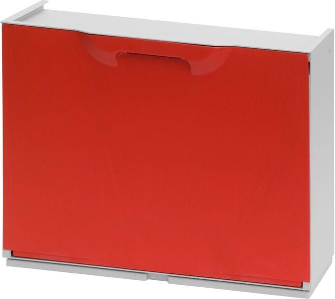 Παπουτσοθήκη Πλαστική Συναρμολογούμενη 51x17.3x41cm για 3 Ζευγάρια 2.5kg UNIKA Κόκκινη Ιταλίας