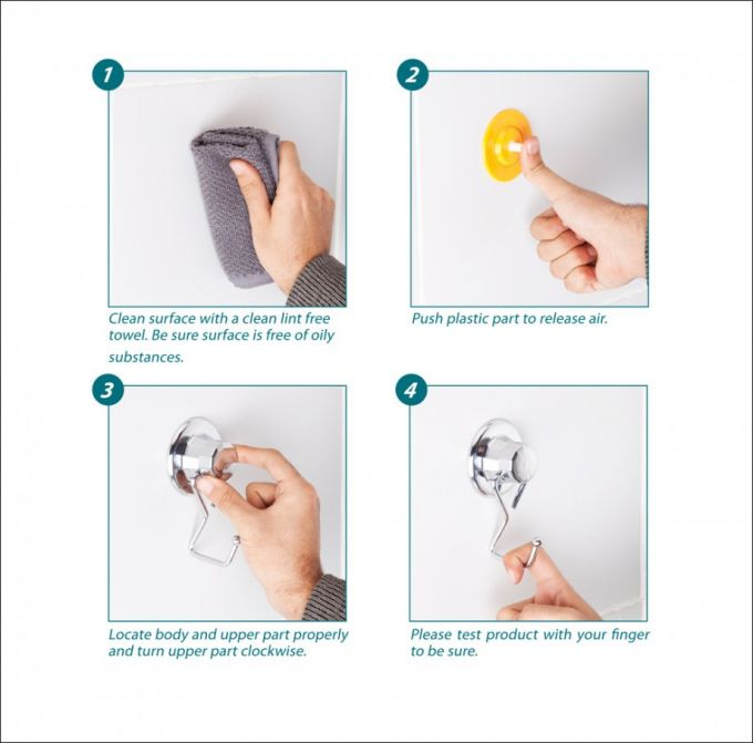 TEKNO-TEL Χαρτοθήκη Τοίχου για Ρολό Κουζίνας 27x4x12cm Πάχος Ø7mm Αντοχή 12kg Επιχρωμιωμένο Ατσάλι με Βεντούζα EXTRA STRONG