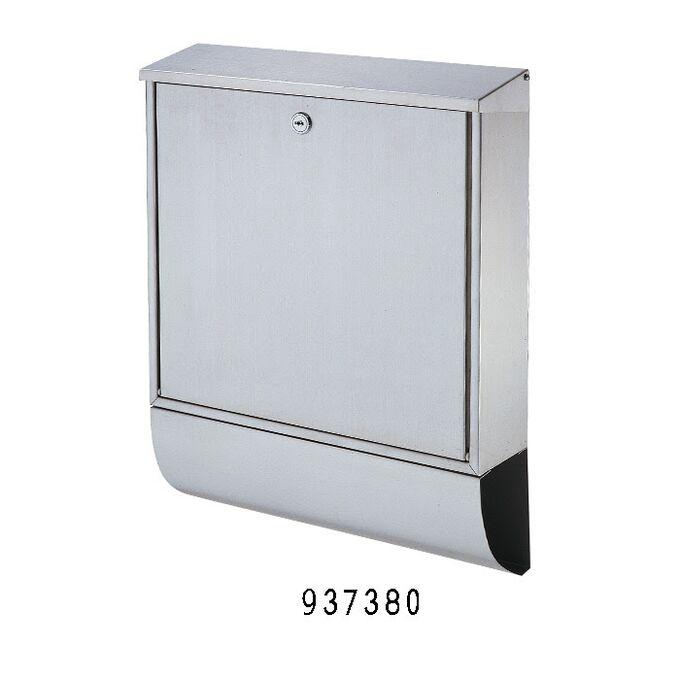 Γραμματοκιβώτιο 37x10x48cm Εξωτερικού Χώρου INOX με Μηχανισμό Κλειδώματος και Θέση για Εφημερίδες-Περιοδικά
