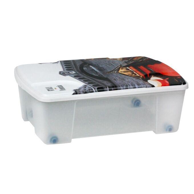 Κουτί Αποθήκευσης 56x39x18cm Πλαστικό 35lt Διάφανο Decor Venezia ARTPLAST Ιταλίας