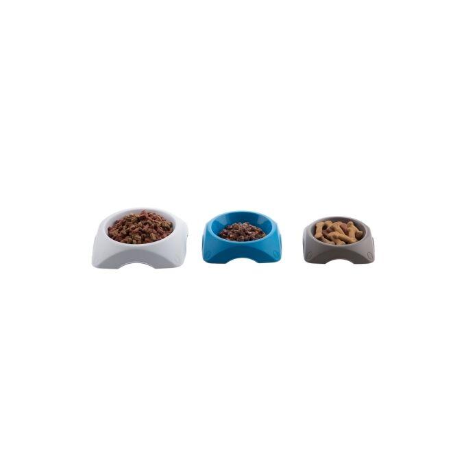 Ταΐστρα Σκύλου-Γάτας 19.5x19.5x4.7cm Καφέ 0.6lt BAMA GROUP Ιταλίας