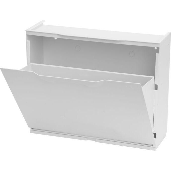 Παπουτσοθήκη Πλαστική Συναρμολογούμενη 51x17.3x41cm για 3 Ζευγάρια 2.5kg UNIKA Λευκή Λεία ARTPLAST Ιταλίας