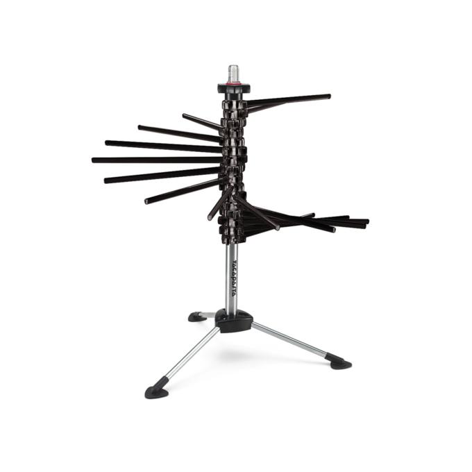 Marcato Στεγνωτήρι Ζυμαρικών Design με 16 Ράβδους MAX Αντοχή 2kg Βάση Αλουμινίου-Πλαστικοί Ράβδοι Μαύρο