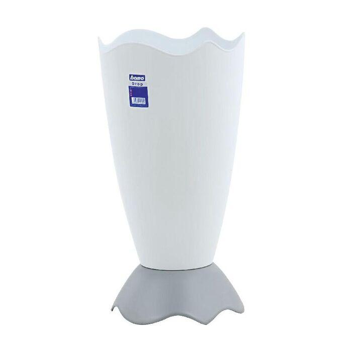 Ομπρελοθήκη Πλαστική Ø27.5x54.5cm Λευκή BAMA Ιταλίας