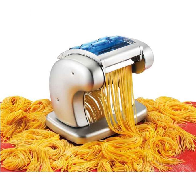 IMPERIA PASTAPRESTO Ηλεκτρική Μηχανή Φύλλου και Ζυμαρικών230V-85W 28x23x27cm Ατσάλι με Σαγρέ Ματ Επιφάνεια Ιταλίας