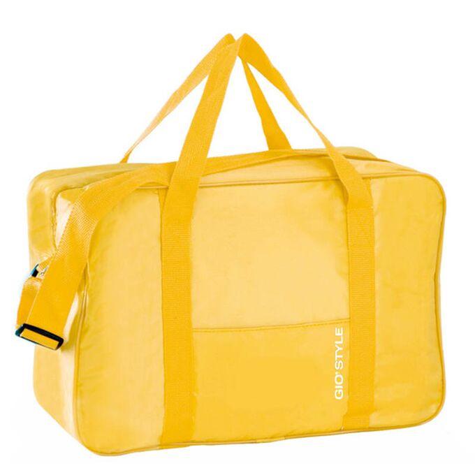 GIOSTYLE ITALY Ισοθερμική Τσάντα 40.5x19x28cm Πάχος 5mm 24lt Πολυεστέρας MAX Απόδοση 9 Ώρες Πιστοποιήσεις Azo FREE/Reach FIESTA BIG Κίτρινο
