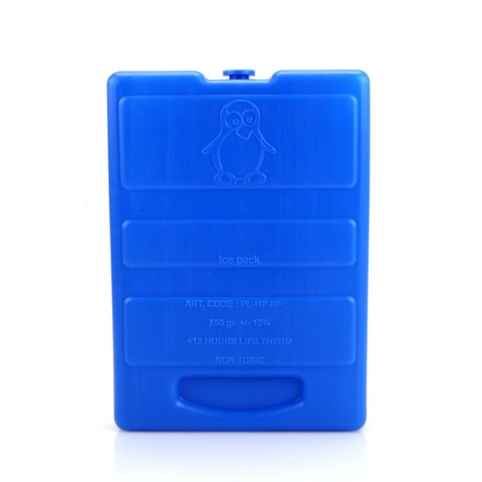 Παγοκύστη Πλακέ GEL 750gr 13.7x3.6x19cm Μπλε Ελλάδας