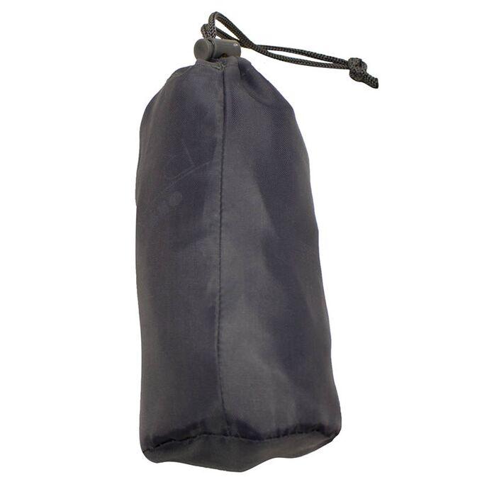 ORDINETT ITALY Τσάντα Ταξιδιών 36.5x18x32 cm Πολυεστέρας 21lt  Πτυσσόμενο σε Σάκο Αποθήκευσης BAG NEW TRAVEL Σκούρο Γκρι