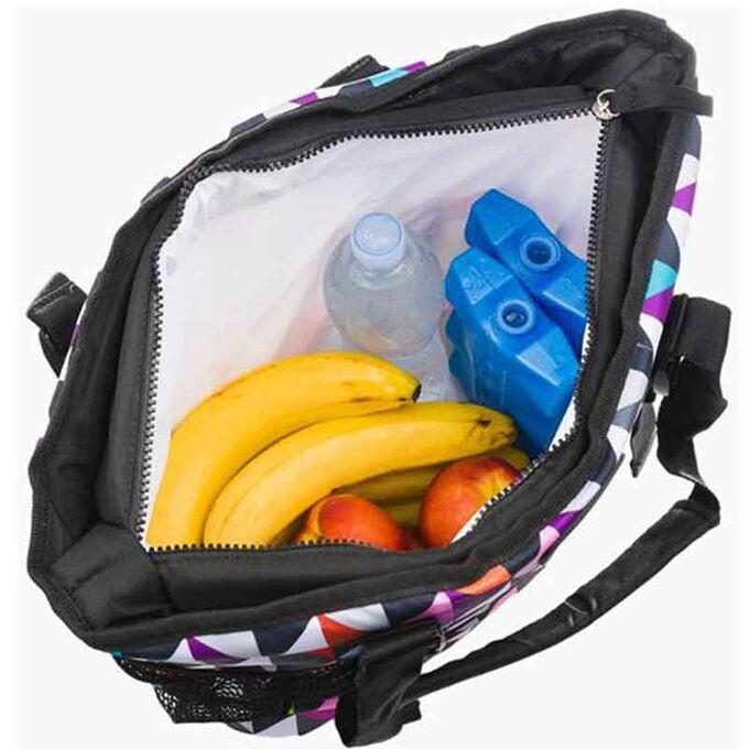 GIOSTYLE ITALY Ισοθερμική Τσάντα 38x13x36cm Πάχος 10mm 19lt Πολυεστέρας 600D MAX Απόδοση 17 Ώρες Πιστοποιήσεις Azo FREE/Reach COOLBAG BOXY 18 PIXEL
