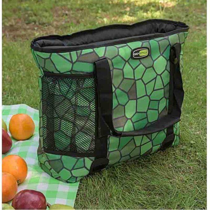 GIOSTYLE ITALY Ισοθερμική Τσάντα 47x14x36cm Πάχος 10mm 26lt Πολυεστέρας 600D MAX Απόδοση 17 Ώρες Πιστοποιήσεις Azo FREE/Reach COOLBAG BOXY 23 SHELL