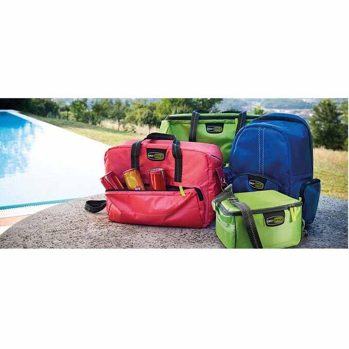 GIOSTYLE ITALY Ισοθερμική Τσάντα 40x18x28cm Πάχος 10mm 22lt Πολυεστέρας 420D MAX Απόδοση 14 Ώρες Πιστοποιήσεις Azo FREE/REACH COOLBAG VELA M Κόκκινη