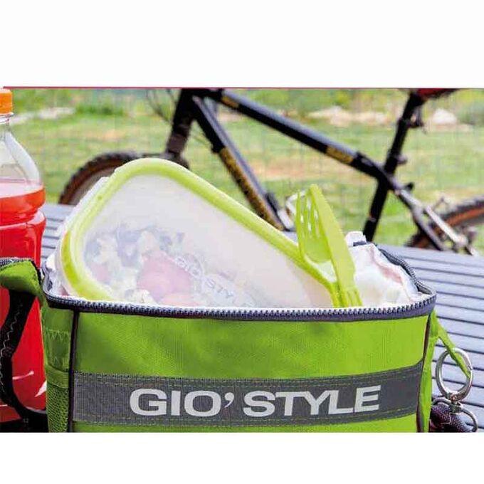 GIOSTYLE ITALY Ισοθερμική Τσάντα 40x18x28cm Πάχος 10mm 22lt Πολυεστέρας 420D MAX Απόδοση 14 Ώρες Πιστοποιήσεις Azo FREE/REACH COOLBAG VELA M Πράσινη