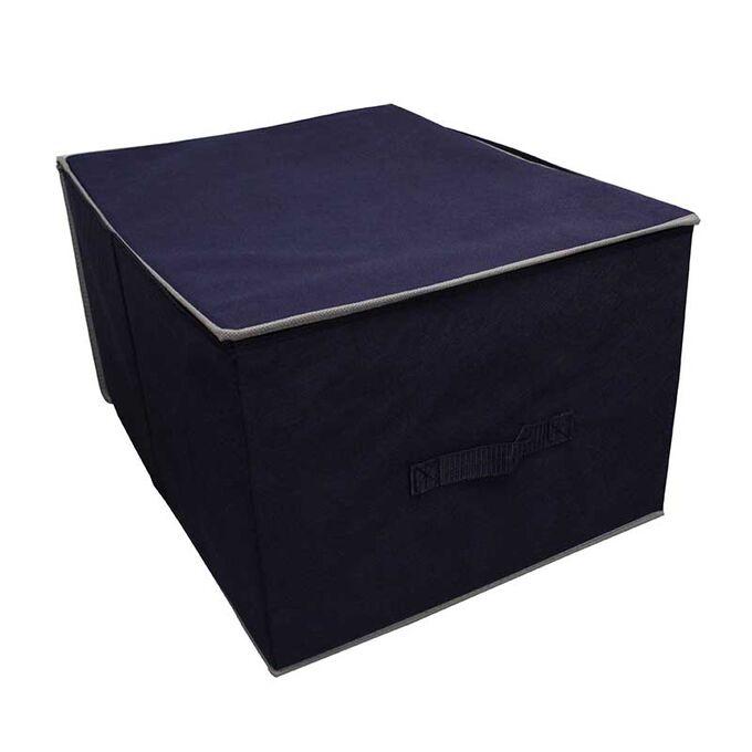Κουτί Αποθήκευσης Ρούχων 33x40x18cm 24lt TNT Μπλε Σκούρο
