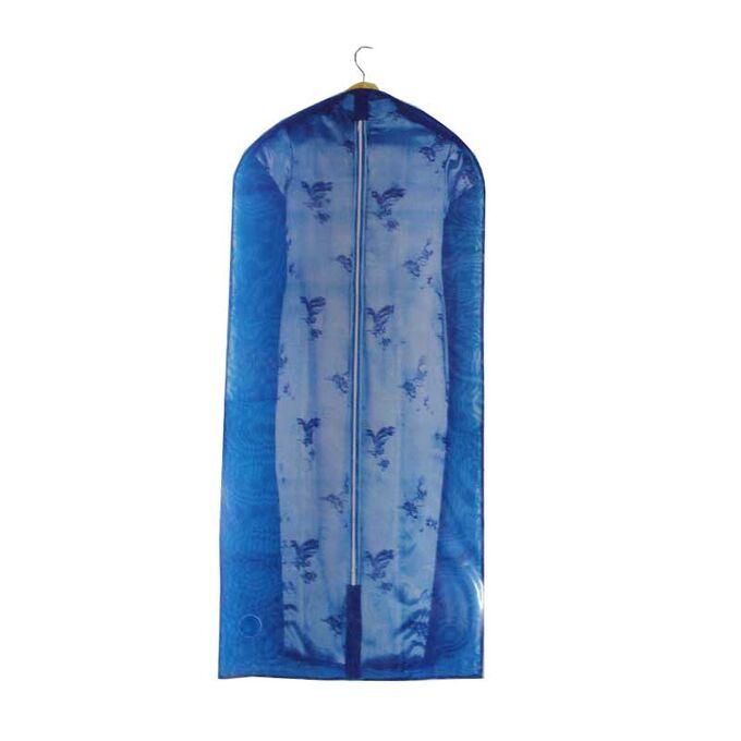 Θήκη Φύλαξης Παλτών και Φορεμάτων 60x135cm 100%Nylon Μπλε