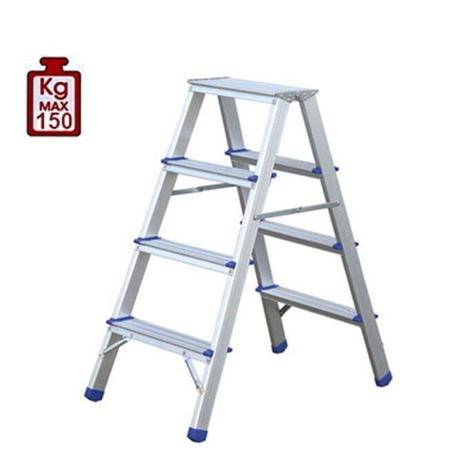 Σκαλοσκαμπό Αλουμινίου 2x4 Σκαλιά MAX Ύψος 88cm Βάρος 2.9kg MAX Αντοχή 150kg