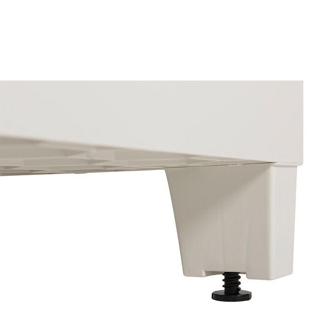 TOOMAX FASHION ITALY XL Πλαστική Ντουλάπα 78x46x101cm 100% Στεγανή Εξωτερικών Χώρων 10.5kg με 2 Ρυθμιζόμενα Ράφια MAX Αντοχή 90kg FLORIDA XL GREY/WARM GREY TUV/GS