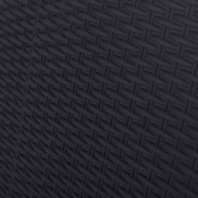 TOOMAX FASHION ITALY XL Πλαστική Ντουλάπα 78x49x101cm 100% Στεγανή Εξωτερικών Χώρων 10.7kg με 2 Ρυθμιζόμενα Ράφια MAX Αντοχή 90kg SANTORINI S ANTHRACITE-GREY TUV/GS