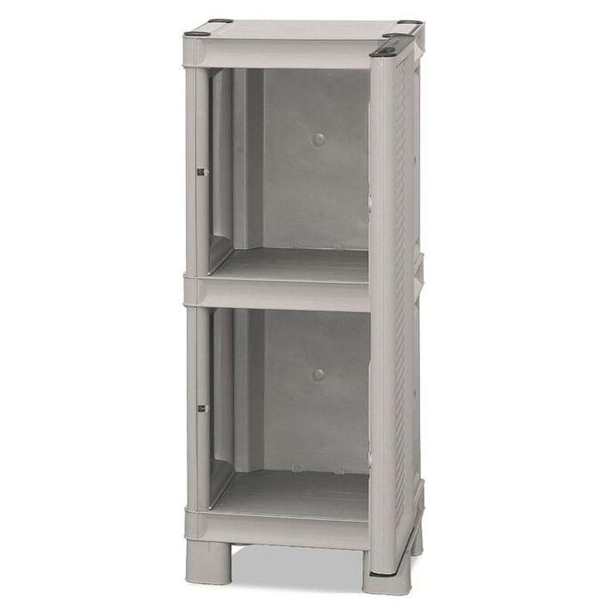 Πλαστική Ντουλάπα 35X39X92cm 7kg MASSIF Μονόφυλλη 2 Αποθηκευτικοί Χώροι ARTPLAST ITALY CONCERT