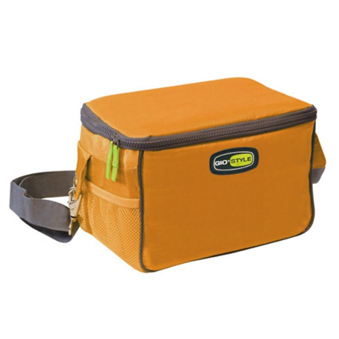 GIOSTYLE ITALY Ισοθερμική Τσάντα 26x17x16cm Πάχος 10mm 7lt Πολυεστέρας 420D MAX Απόδοση 9 Ώρες Πιστοποιήσεις Azo FREE/REACH TRAVEL LUNCH VELA Πορτοκαλί