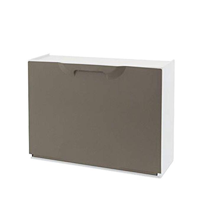 Παπουτσοθήκη Πλαστική Συναρμολογούμενη 3σε1 Σύνθεση 51x17.3x123cm UNIKA Γκρι Καφέ ARTPLAST Ιταλίας