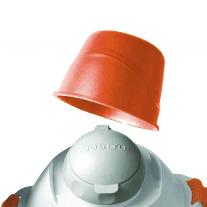 GIOSTYLE ITALY Παγούρι-Θερμός Ψύξης 15x9x27cm 0.95lt 0.35kg CIAO! CANTEEN 1000 Γκρι-Πορτοκαλί