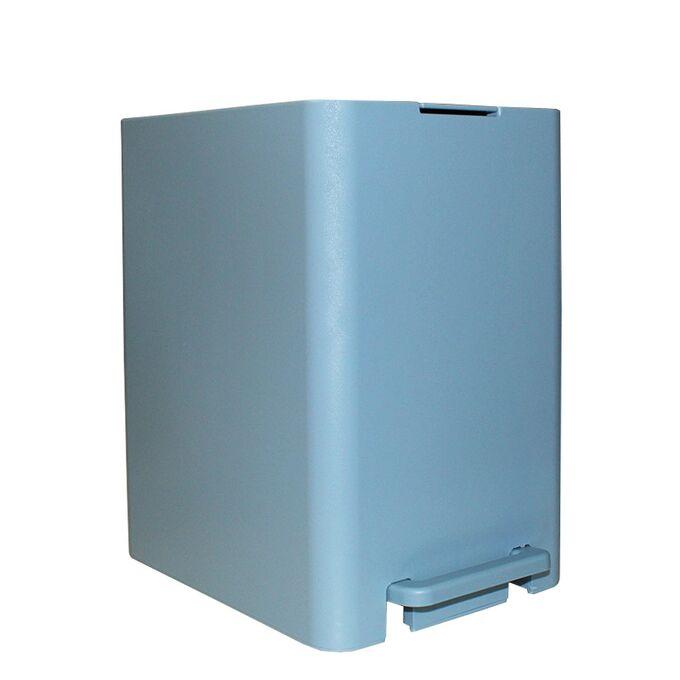 Κάδος Μπάνιου με Πεντάλ 13.5lt 18.5x25x29cm με Εσωτερικό Κάδο 7lt 0.82kg Πλαστικό SOFT CLOSE Σιέλ Ελλάδας
