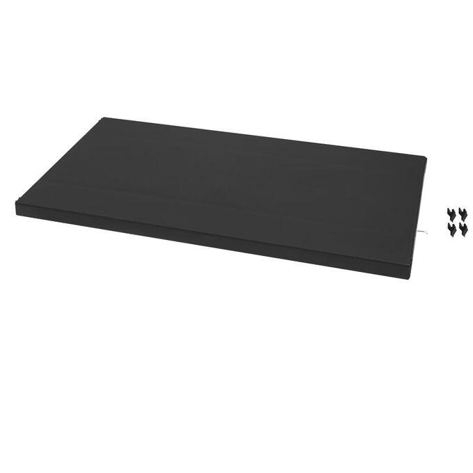 ARTPLAST ITALY ΡΑΦΙ ΝΤΟΥΛΑΠΑΣ 63x33x4cm Πλαστικό Μαύρο