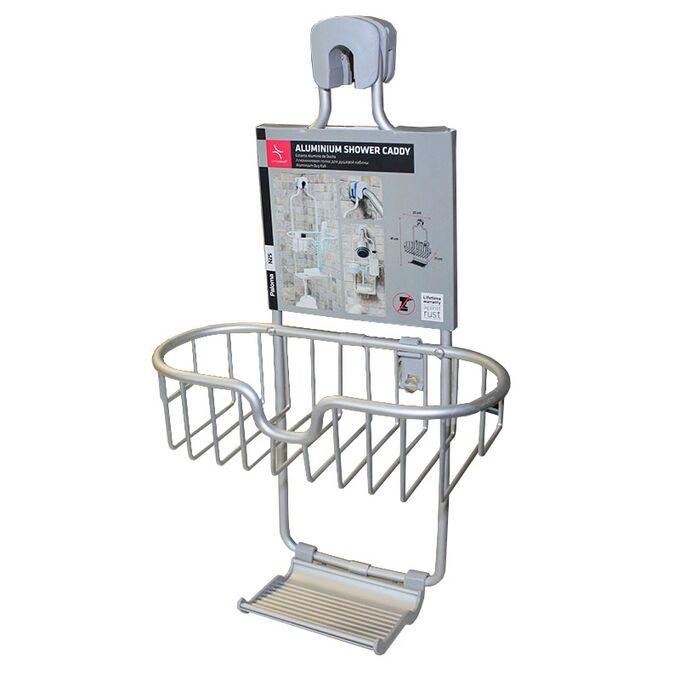 Ραφιέρα Μπάνιου 25x11x41cm 0.38kg Αλουμίνιο