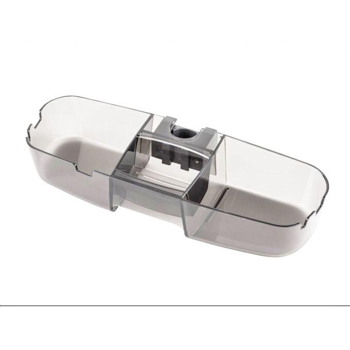 Εταζέρα-Ράφι Στήλης Ντουζιέρας 33x11x7cm Πλαστικό 0.32kg Διάφανο