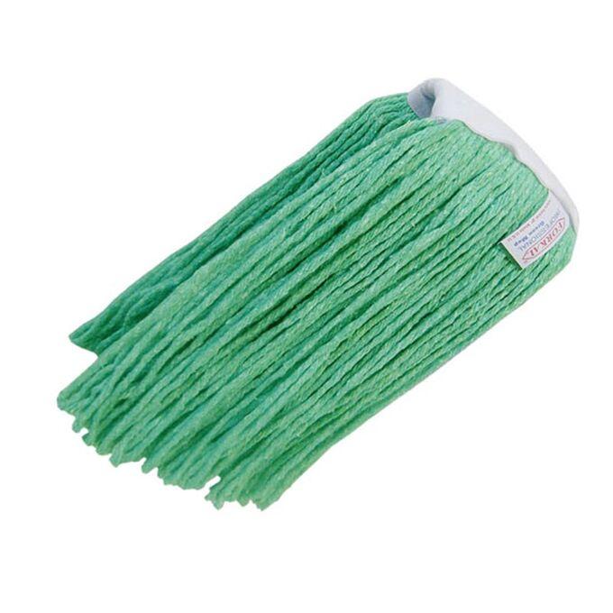 Σφουγγαρίστρα Επαγγελματική Κορδόνι 400gr Νήματα Βαμβακερά Πράσινο